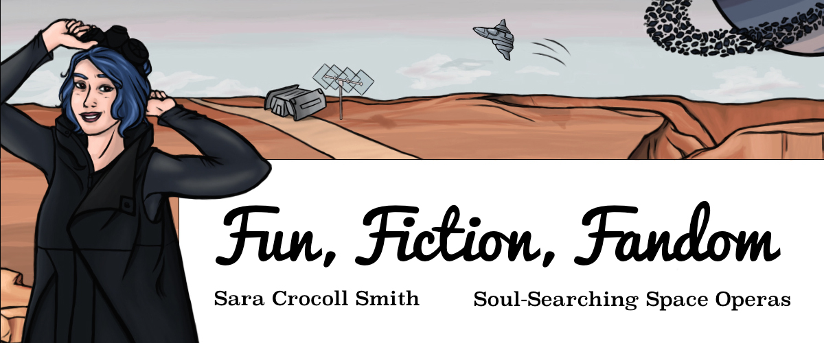 Soul-searching space operas by Sara Crocoll Smith